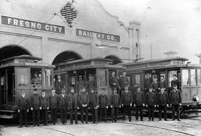 Fresno City Railway Co. image. Click for full size.