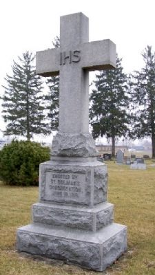 St. Colman Church Memorial Cross image. Click for full size.