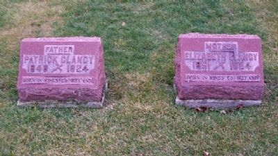 Clancy Grave Markers image. Click for full size.