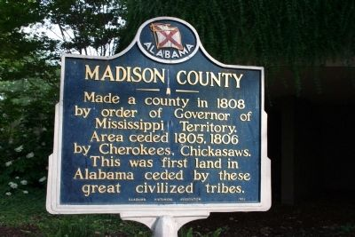 Madison County Marker image. Click for full size.