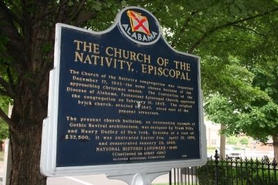 The Church Of The Nativity, Episcopal Marker Side A image. Click for full size.