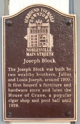 Joseph Block Marker image. Click for full size.