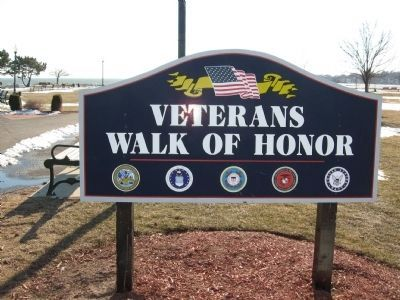 Veterans Walk of Honor image. Click for full size.