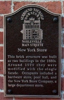 New York Store Marker image. Click for full size.