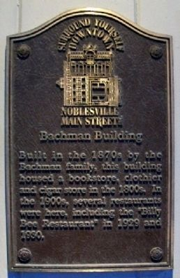 Bachman Building Marker image. Click for full size.