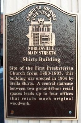 Shirts Building Marker image. Click for full size.