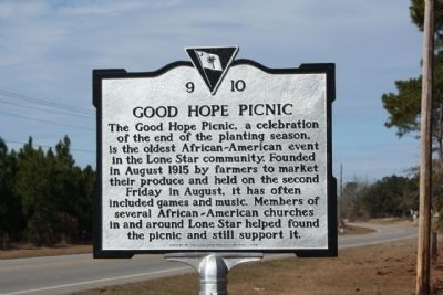 Good Hope Picnic Marker image. Click for full size.