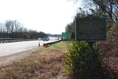 Western Terminus South Carolina Railroad Marker, Jefferson Davis Highway (US 1) image. Click for full size.