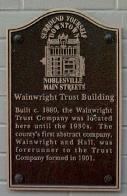 Wainwright Trust Building Marker image. Click for full size.