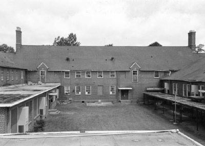 Bishopville High School rear view image. Click for full size.
