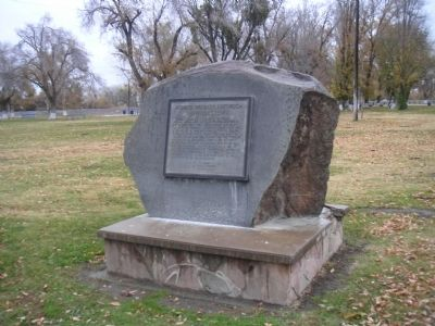Andrew Davidson Firebaugh Marker image. Click for full size.