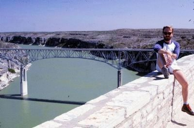 Pecos High Bridge image. Click for full size.