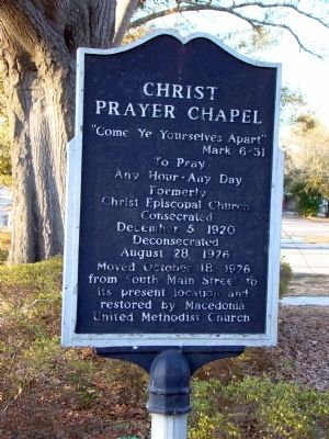 Christ Prayer Chapel Marker image. Click for full size.