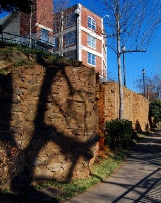 McBee&#39;s Mill -<br>Retaining Walls image. Click for full size.