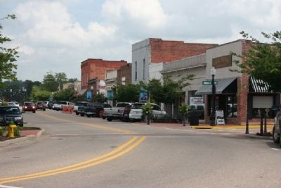 Downtown Prattville, The Town That Daniel Pratt Built image. Click for full size.