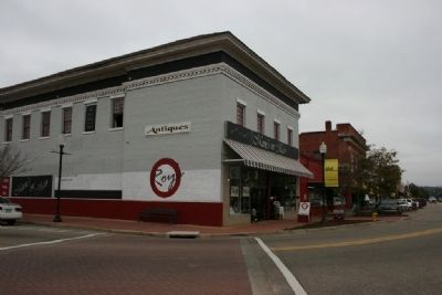 The Prattville Mercantile and Autauga Banking & Trust Building image. Click for full size.