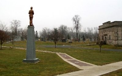 Fayette County Civil War Memorial image. Click for full size.