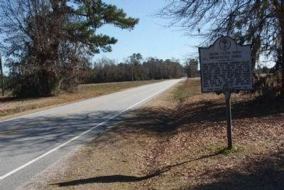 Salem (Black River) Presbyterian Church Marker, seen looking south along North Brick Church Road image. Click for full size.