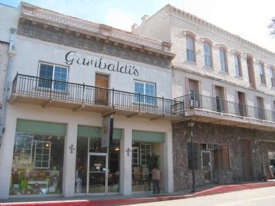 The Garibaldi Building on Main Street image. Click for full size.