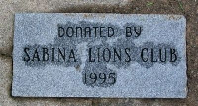Flagpole Donor Marker image. Click for full size.
