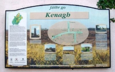 fáilte go Kenagh Marker image. Click for full size.