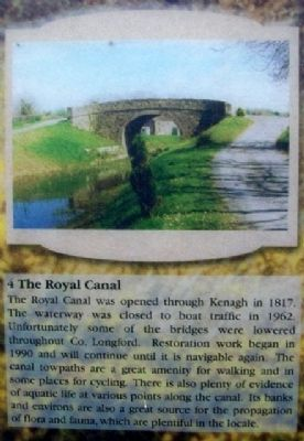 Royal Canal on Marker image. Click for full size.
