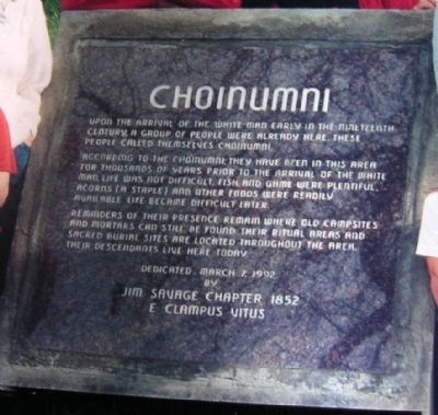 Choinumni Marker image. Click for full size.