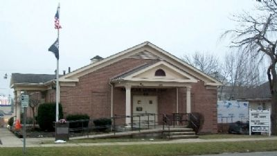 American Legion Post No. 49 and Memorial image. Click for full size.
