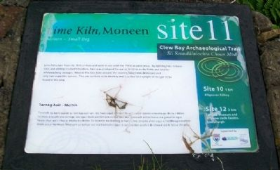 <i>Lime Kiln</i>, Moneen, site 11 Marker image. Click for full size.
