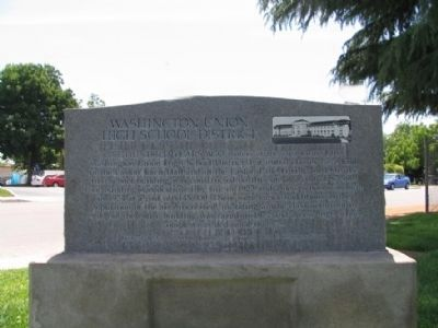 Washington Union High School District Marker image. Click for full size.