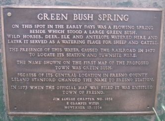 Green Bush Spring Marker image. Click for full size.