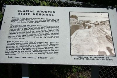 Glacial Grooves State Memorial Marker image. Click for full size.