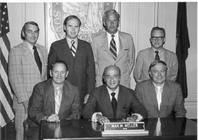 Greenville City Council 1971-1973<br>Vardry Dixon Ramseur, III<br>From Left, 2nd Standing image. Click for full size.