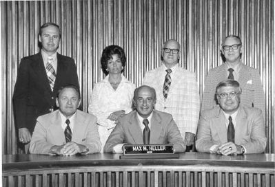 Greenville City Council 1973-1975<br>Vardry Dixon Ramseur, III<br>From Left, 1st Standing image. Click for full size.