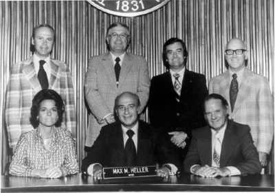 Greenville City Council 1975-1977<br>Vardry Dixon Ramseur, III<br>From Left, 1st Standing image. Click for full size.