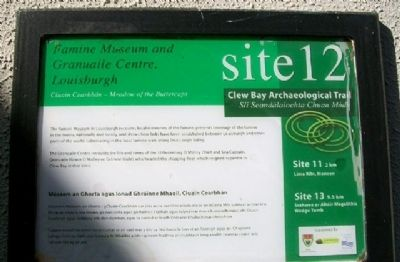 Famine Museum and Granuaile Centre, Louisburgh Marker image. Click for full size.