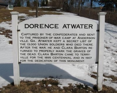 Dorence Atwater Marker image. Click for full size.