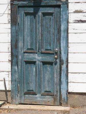 South Side Entrance Door image. Click for full size.