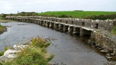 <i>Bunlahinch</i> Clapperbridge image. Click for full size.
