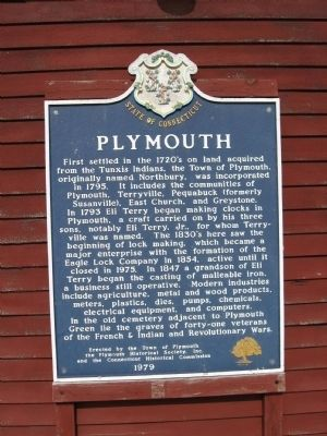 Plymouth Marker image. Click for full size.