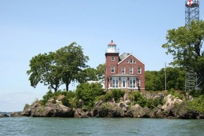 South Bass Island Light Marker image. Click for full size.