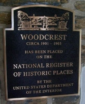 Woodcrest Marker image. Click for full size.