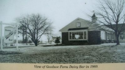 Goodnoe Farm Dairy Bar Photo on Marker image. Click for full size.
