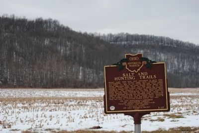 Salt and Hunting Trails Marker image. Click for full size.