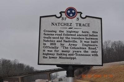 Natchez Trace Marker image. Click for full size.
