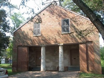 Mooresville Brick Church image. Click for full size.