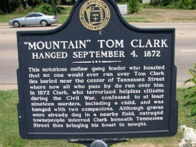 Mountain Tom Clark Marker image. Click for full size.