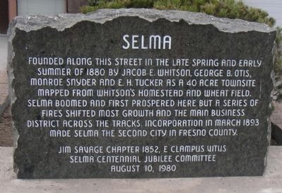 Selma Marker image. Click for full size.