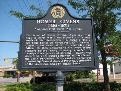 Homer Givens Marker image. Click for full size.