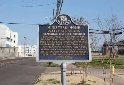 Minister's Home Marker image. Click for full size.